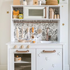 Play Kitchen Ikea Refacing Cost Nova S Hack A Beautiful Mess Today I M Excited To Share The We Made For Christmas Gift Was Highly Inspired By Laura Project And Also Molly From Almost