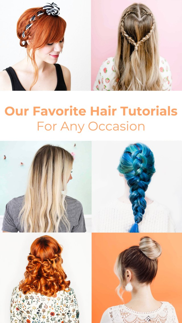 our favorite hair tutorials (for any occasion) - a beautiful