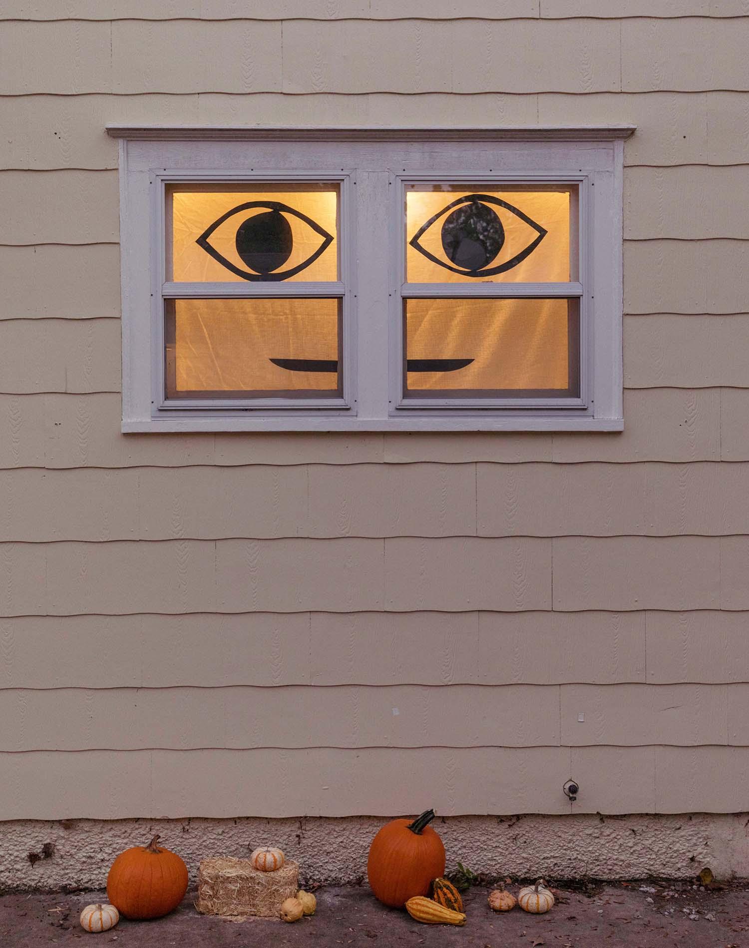 Easy Halloween Window Decor Wustoo