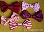make hair bows diy jr