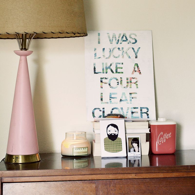 diy canvas art for living room yellow blue and brown rooms song lyric wall d i y project a beautiful mess