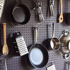 Kitchen Pegboard Aid Gas Range Diy A Beautiful Mess
