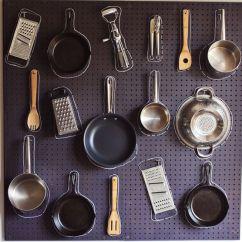 Pegboard Kitchen Backsplash Tile Ideas Diy A Beautiful Mess Peg Board