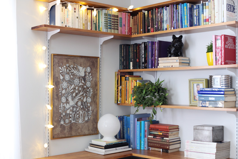 corner shelf for living room small ideas build organize a shelving system beautiful mess click through instructions and styling it s pretty simple to your own