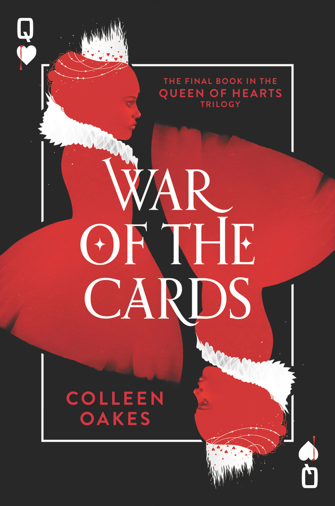 WAR OF THE CARDS by Colleen Oakes