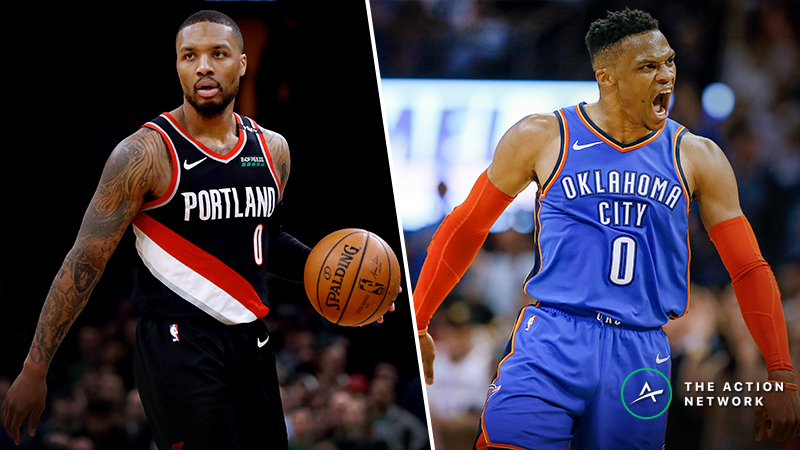 Updated Blazers Vs Thunder Series Odds Schedule The