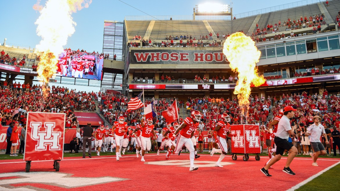 Houston vs. BYU Betting Odds & Pick: Cougars Compete for Nickname & Postseason Preeminence (Friday, Oct. 16) article feature image