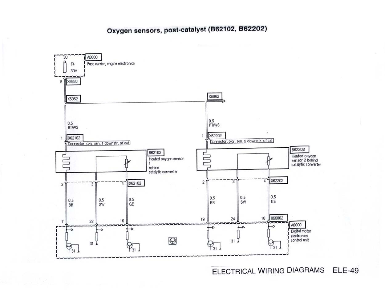 e46 m3 wiring diagram single phase fan motor with capacitor o2 sensor  diagrams