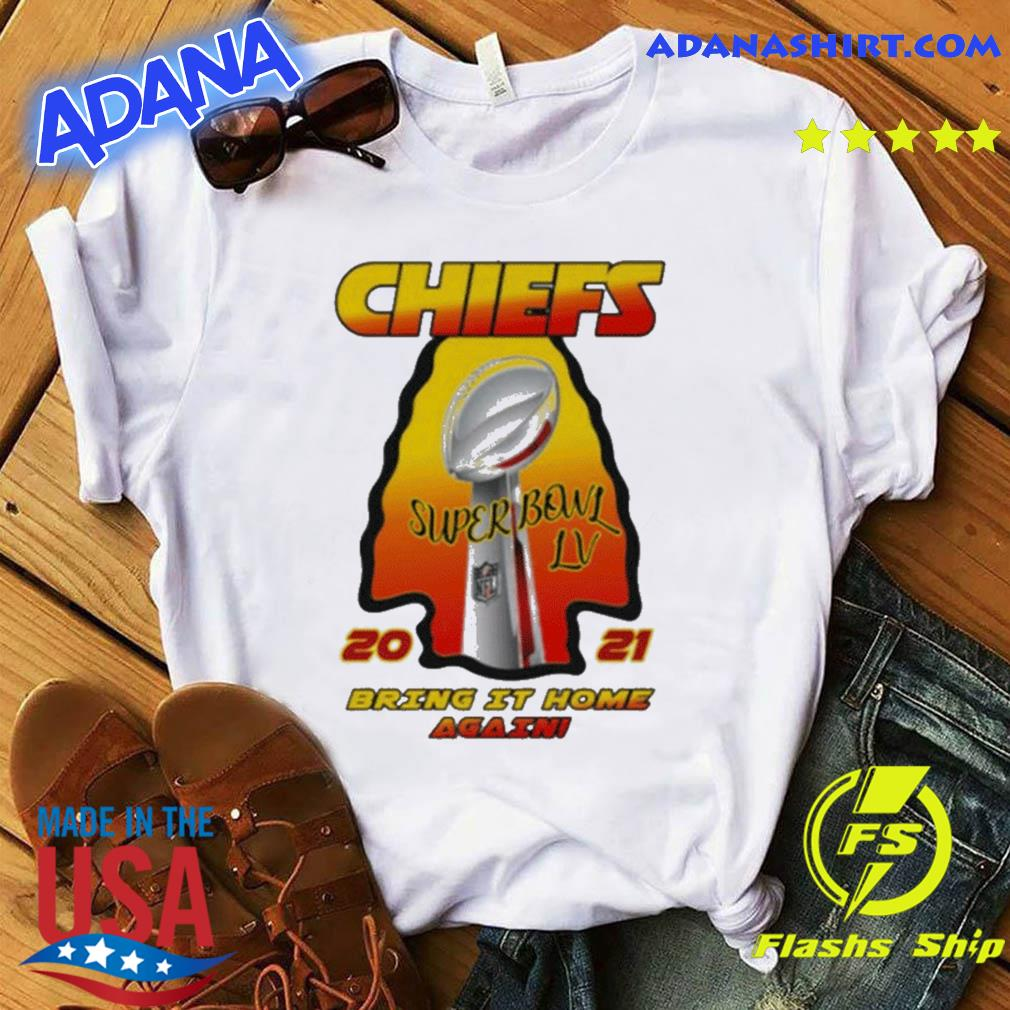 If you buy from a link, we may earn a commission. Kansas City Chiefs - 2021 AFC Champions - Super Bowl LV Bring It Home Again T-Shirt, hoodie ...