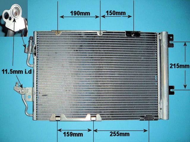 Vauxhall Zafira condensers from Advanced Radiators