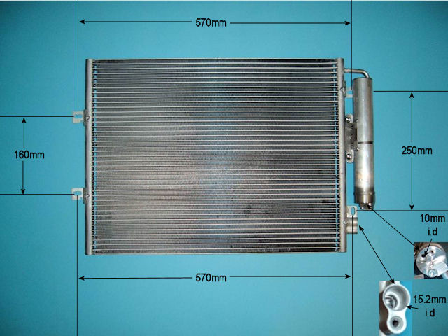 Renault Twingo condensers from Advanced Radiators