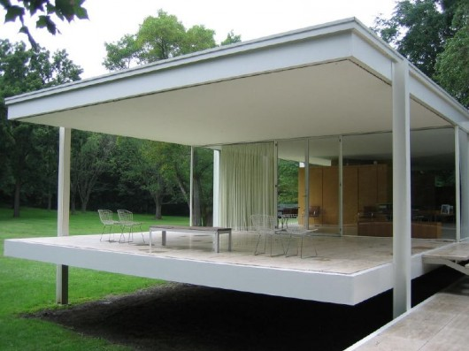 Clssicos da Arquitetura Casa Farnsworth  Mies van der Rohe  ArchDaily Brasil