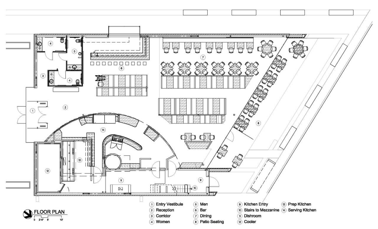 Gallery Of Cafe 501 / Elliott + Associates Architects