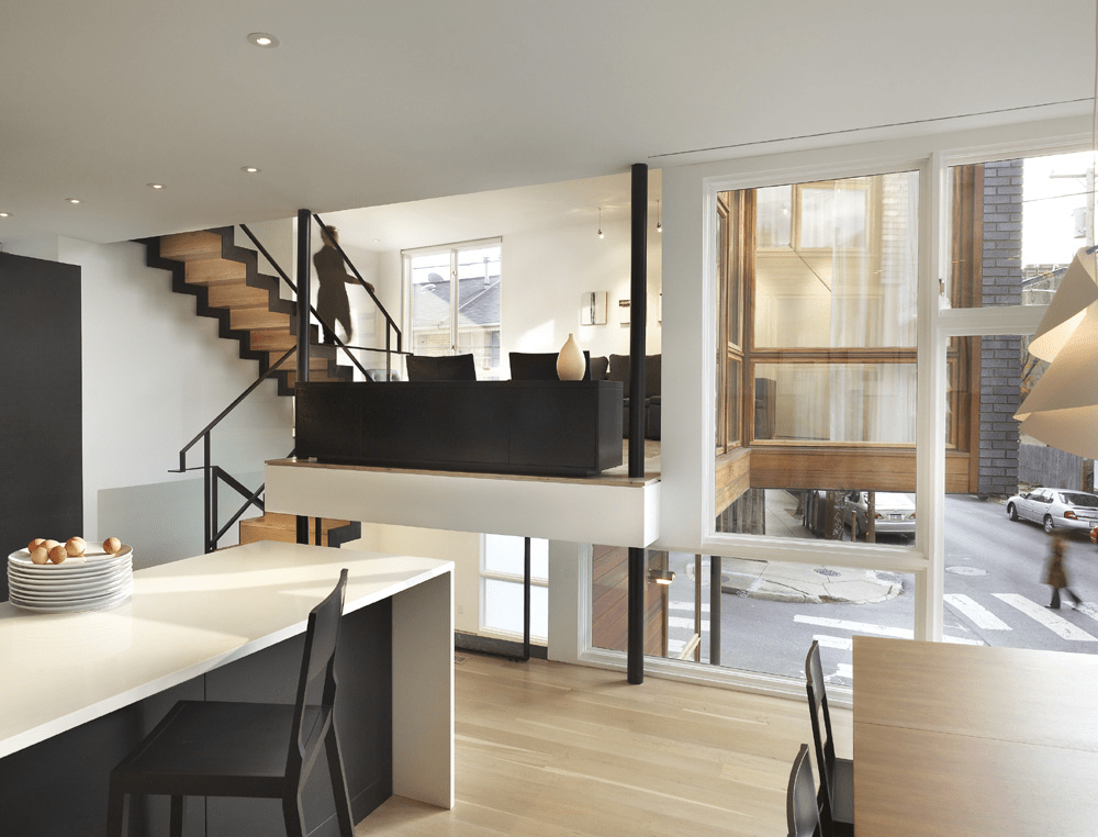 Gallery Of Split Level House Qb Design 7