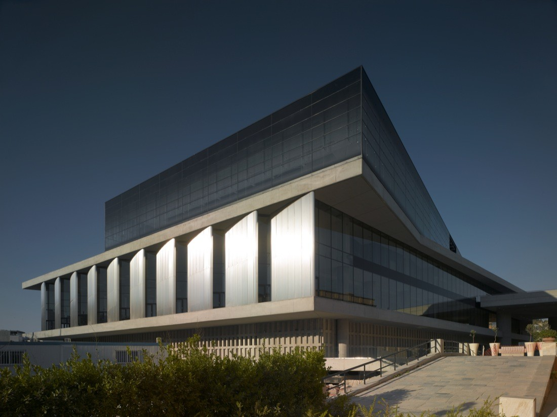 Acropolis Museum Bernard Tschumi Architects Archdaily