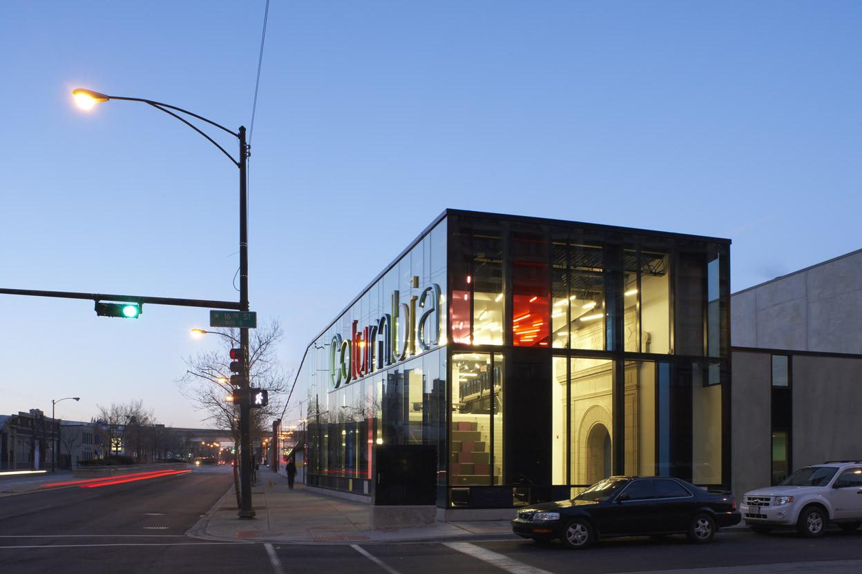 Columbia College Chicago Media Production Center Studio