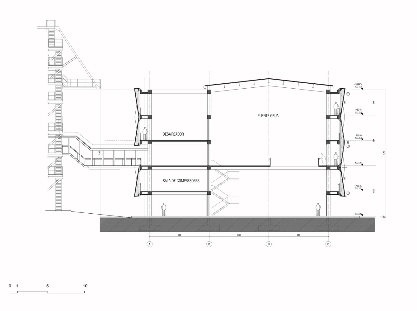 medium resolution of argos building for an electrical generator at a cement factory mgp arquitectura y urbanismo
