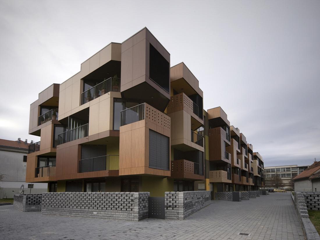 Tetris Apartments Ofis Arhitekti Archdaily