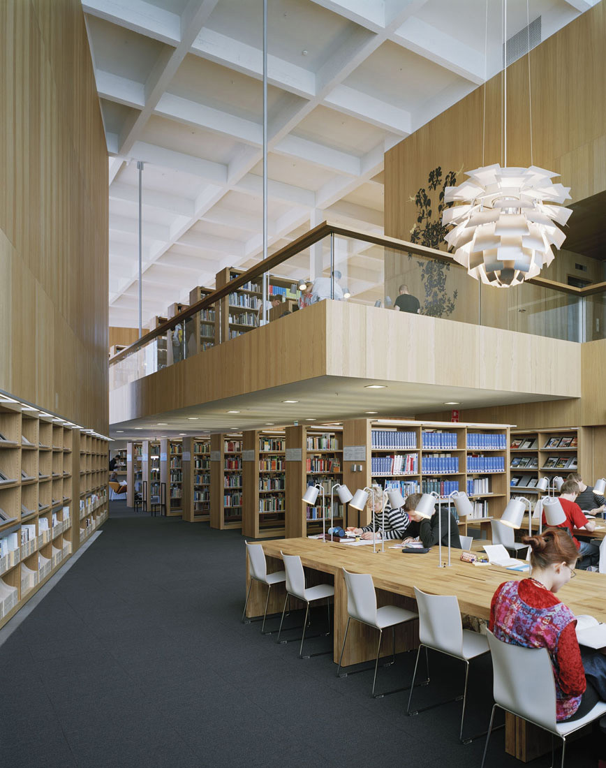 High School Library Architecture