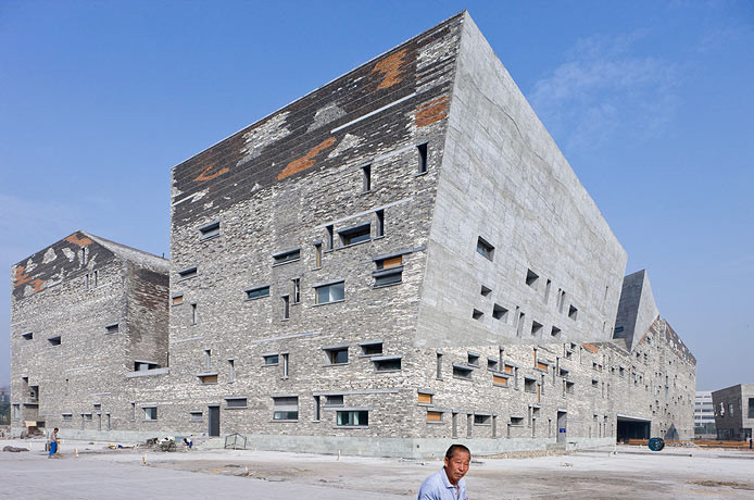 Ningbo Historic Museum – Wang Shu / Amateur Architecture Studio