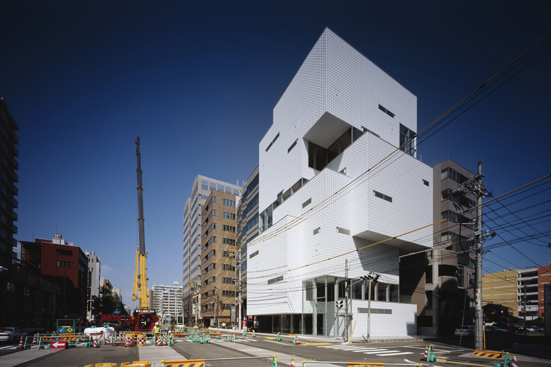 Ftown Building  Atelier Hitoshi Abe Archdaily