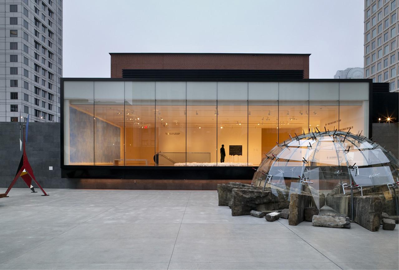 San Francisco Museum Modern Art Rooftop