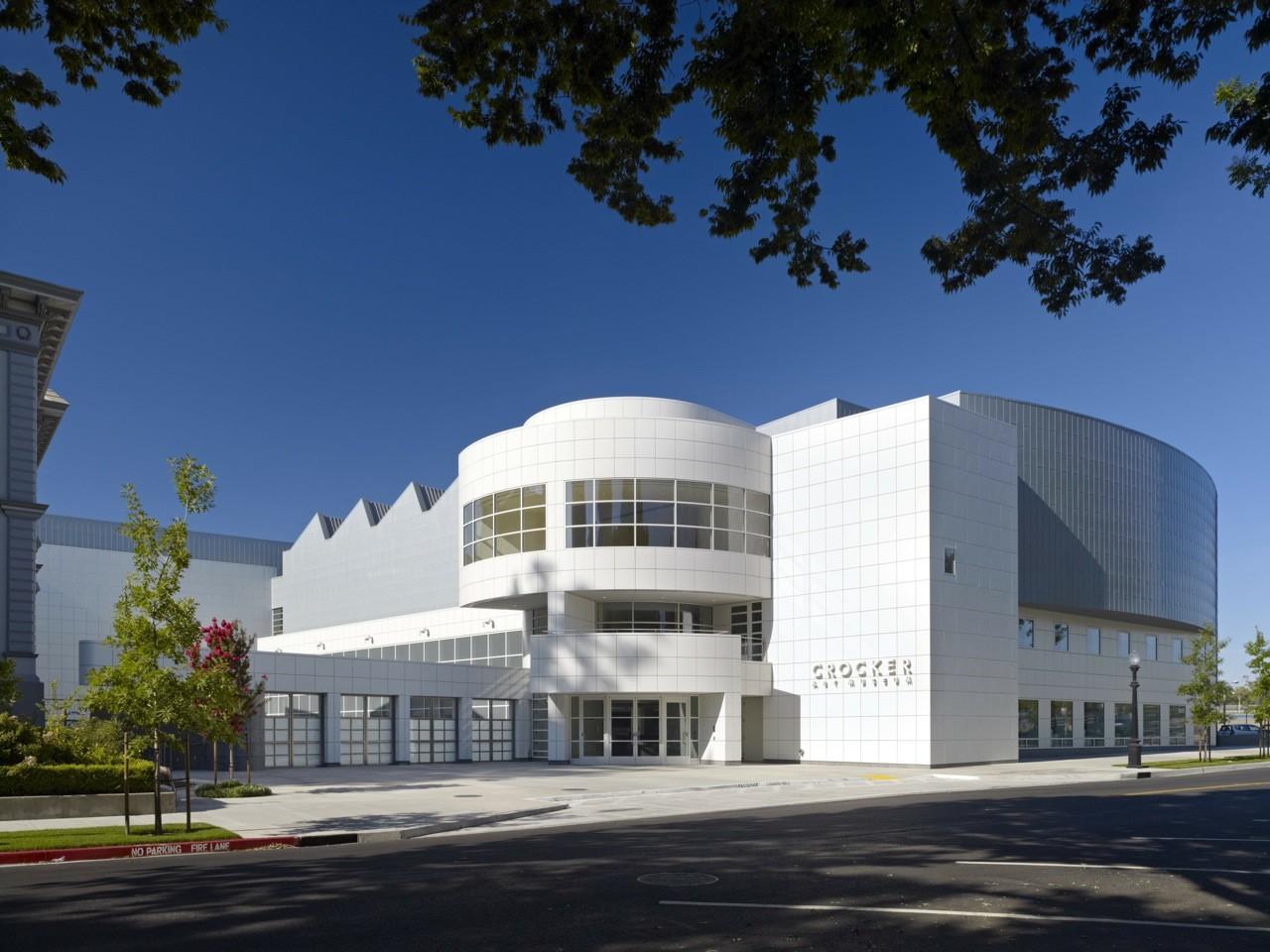 Crocker Art Museum Gwathmey Siegel & Associates