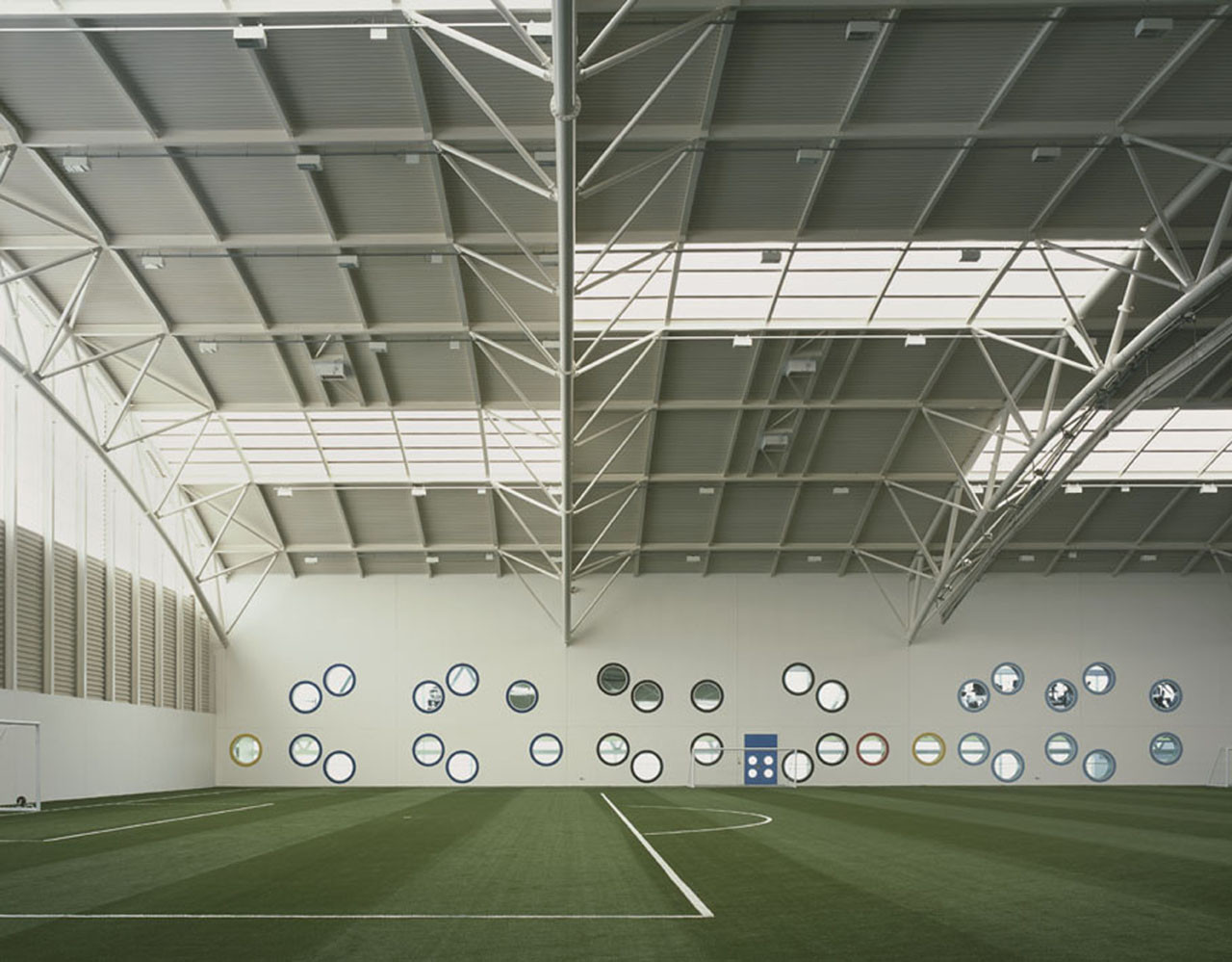 Aberdeen Sports Village  Reiach And Hall Architects  ArchDaily