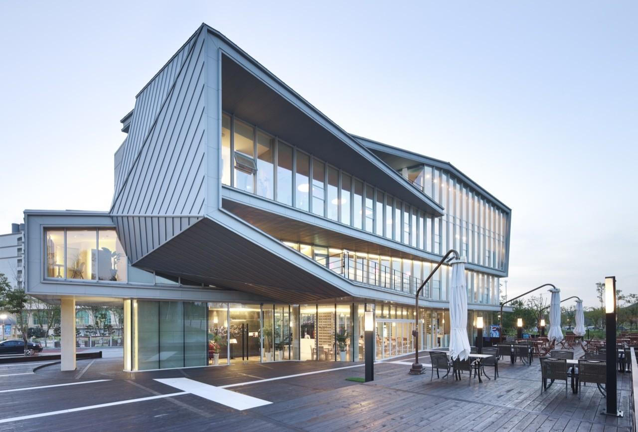 La-cubo Junglim Architecture Archdaily