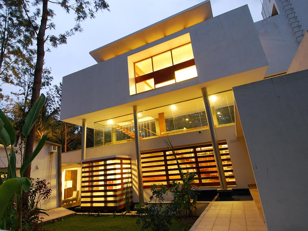 Gallery Of House Of Pavilions Architecture Paradigm 17
