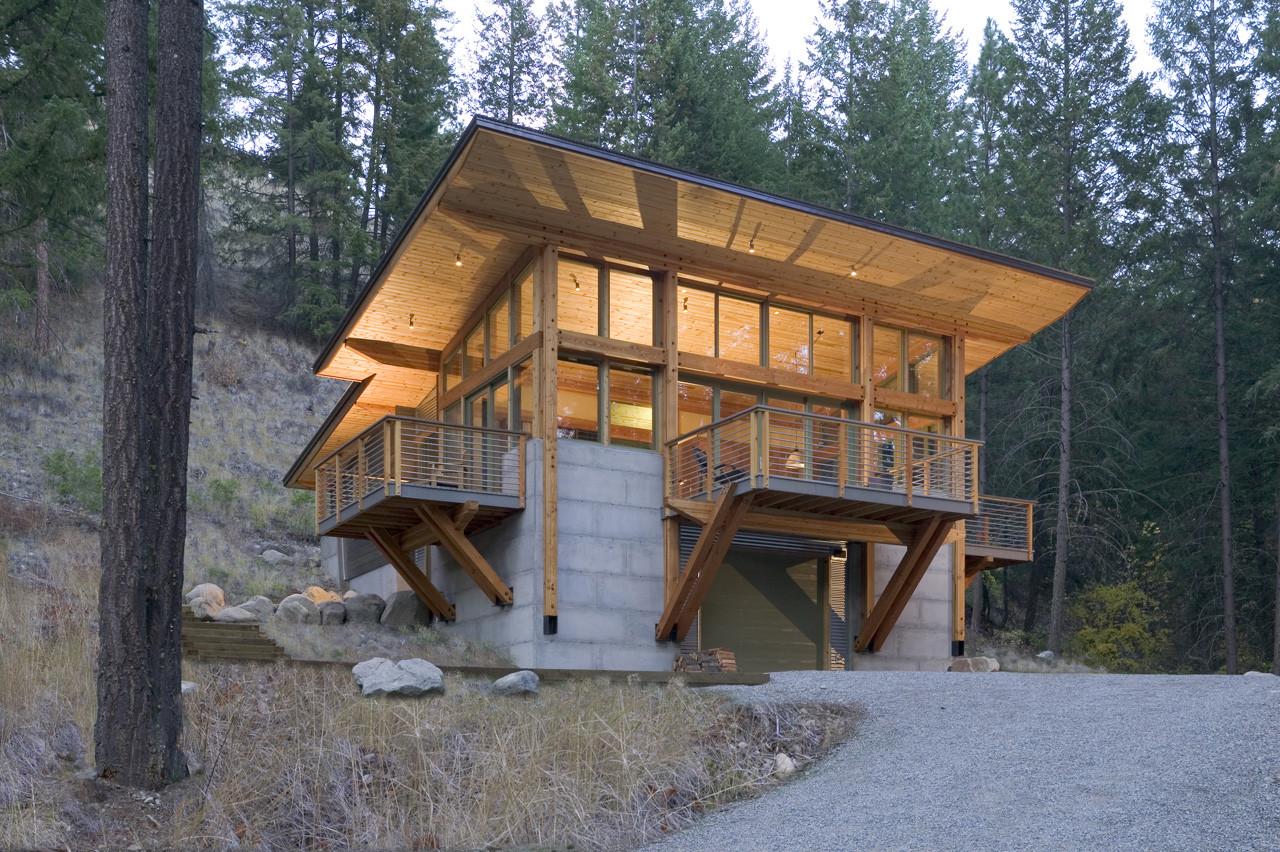 Wintergreen Cabin Balance Associates Architects Archdaily