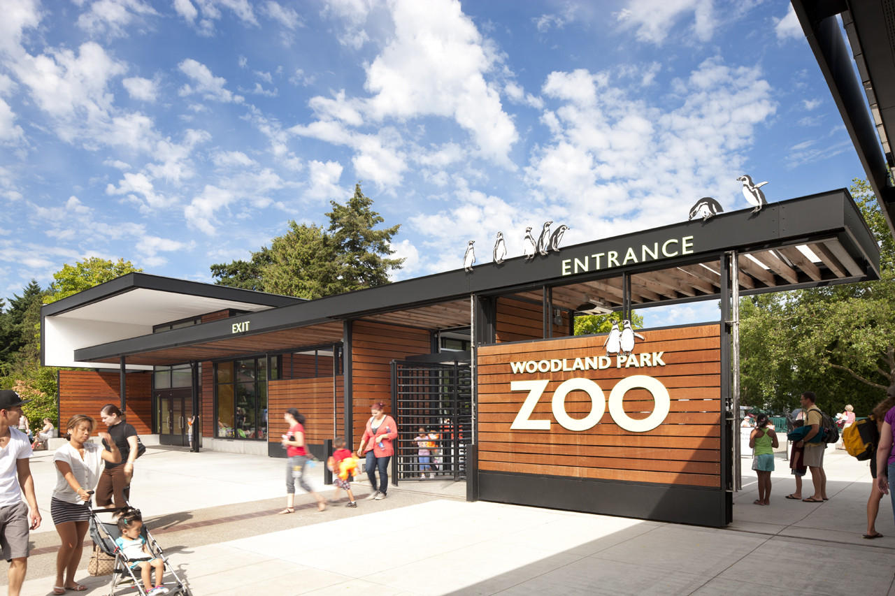 Woodland Park Zoo West Entry Weinstein U Archdaily