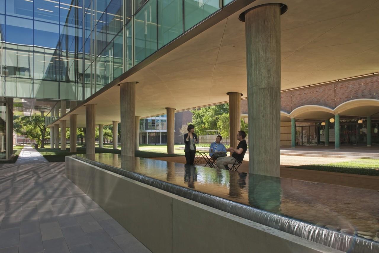 Landscape Design for Brockman Hall for Physics at Rice