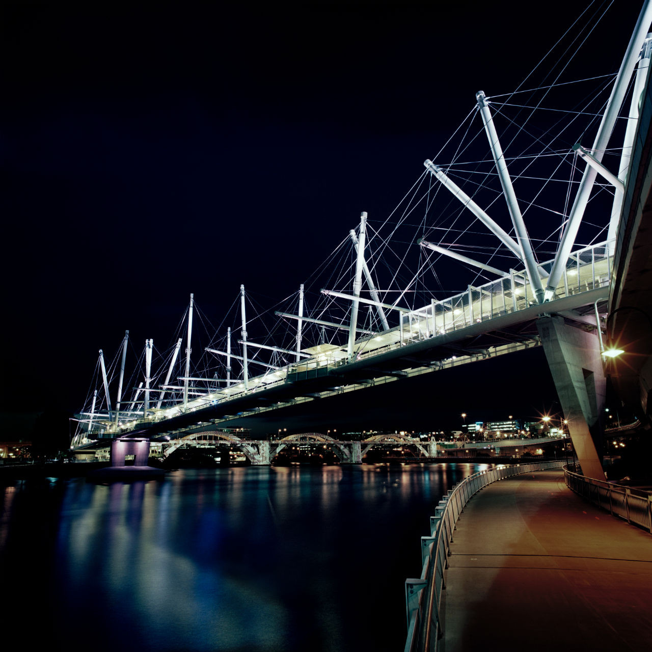 Gallery of Kurilpa Bridge  Cox Rayner Architects with