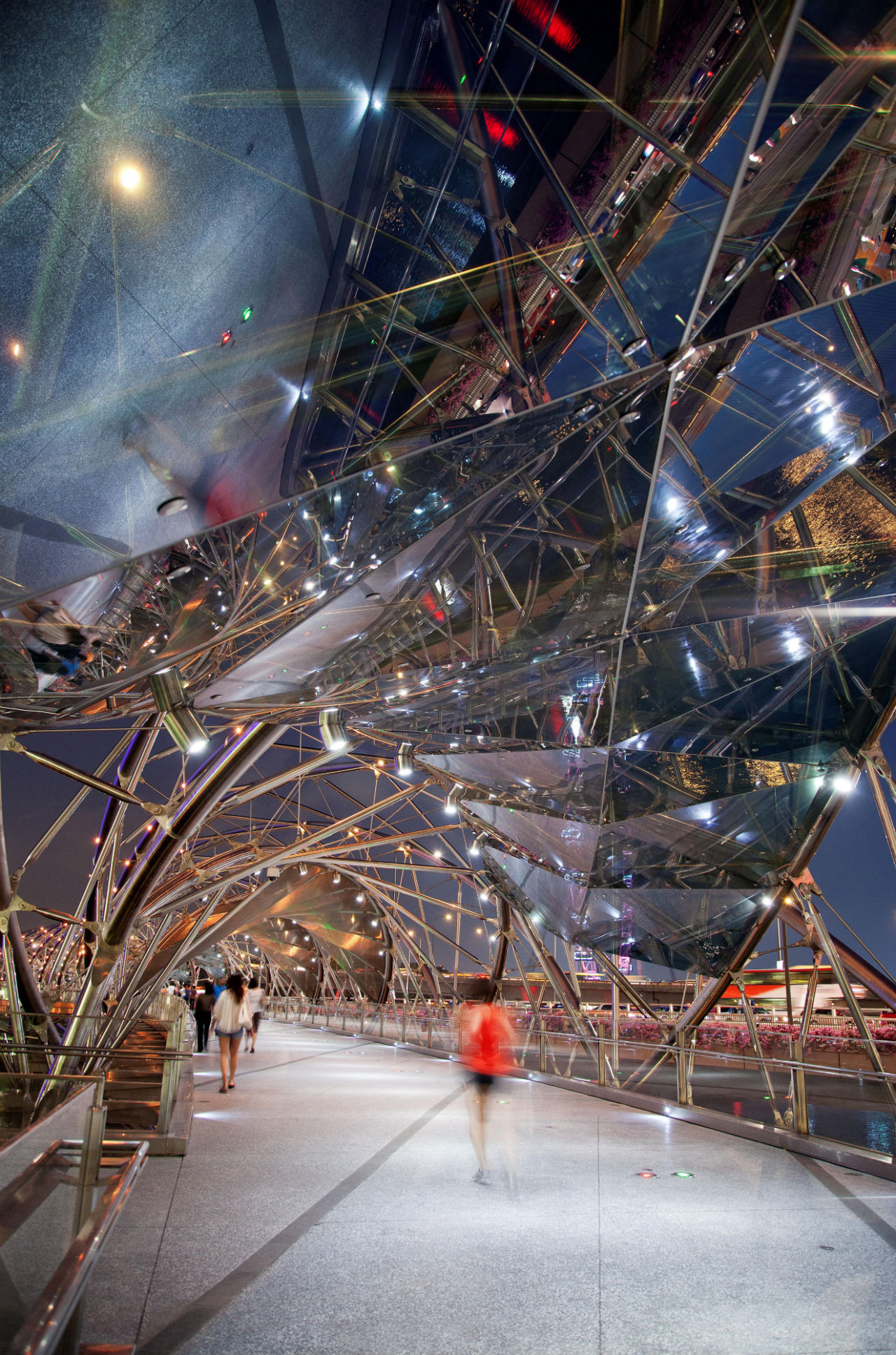 Gallery Of Helix Bridge  Cox Architecture With Architects