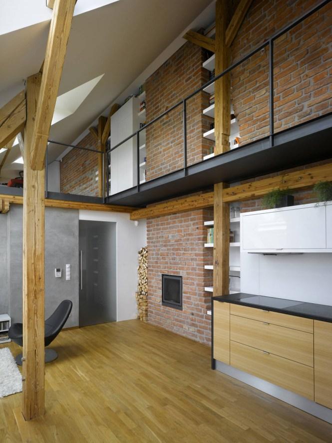 Mini Loft Apartment In Prague Dalibor