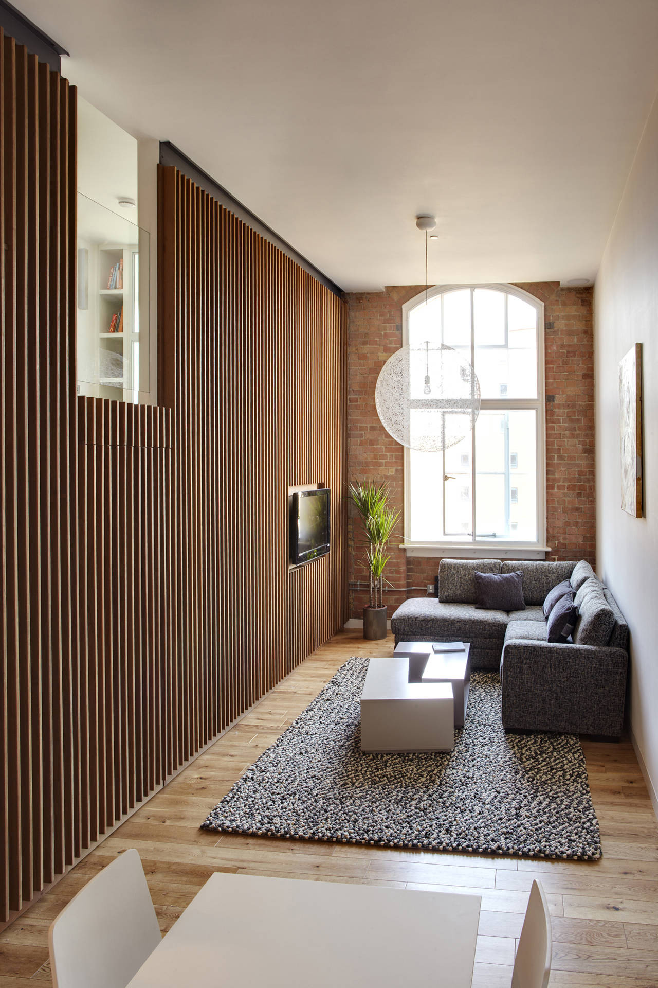 Apartment At Bow Quarter Studio Verve Architects Archdaily