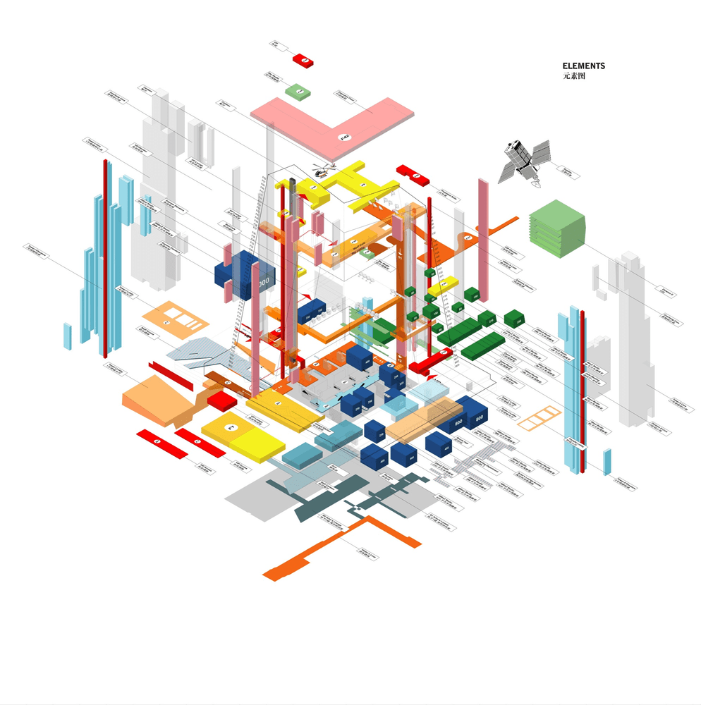 cctv headquarters diagram 02 [ 994 x 1000 Pixel ]