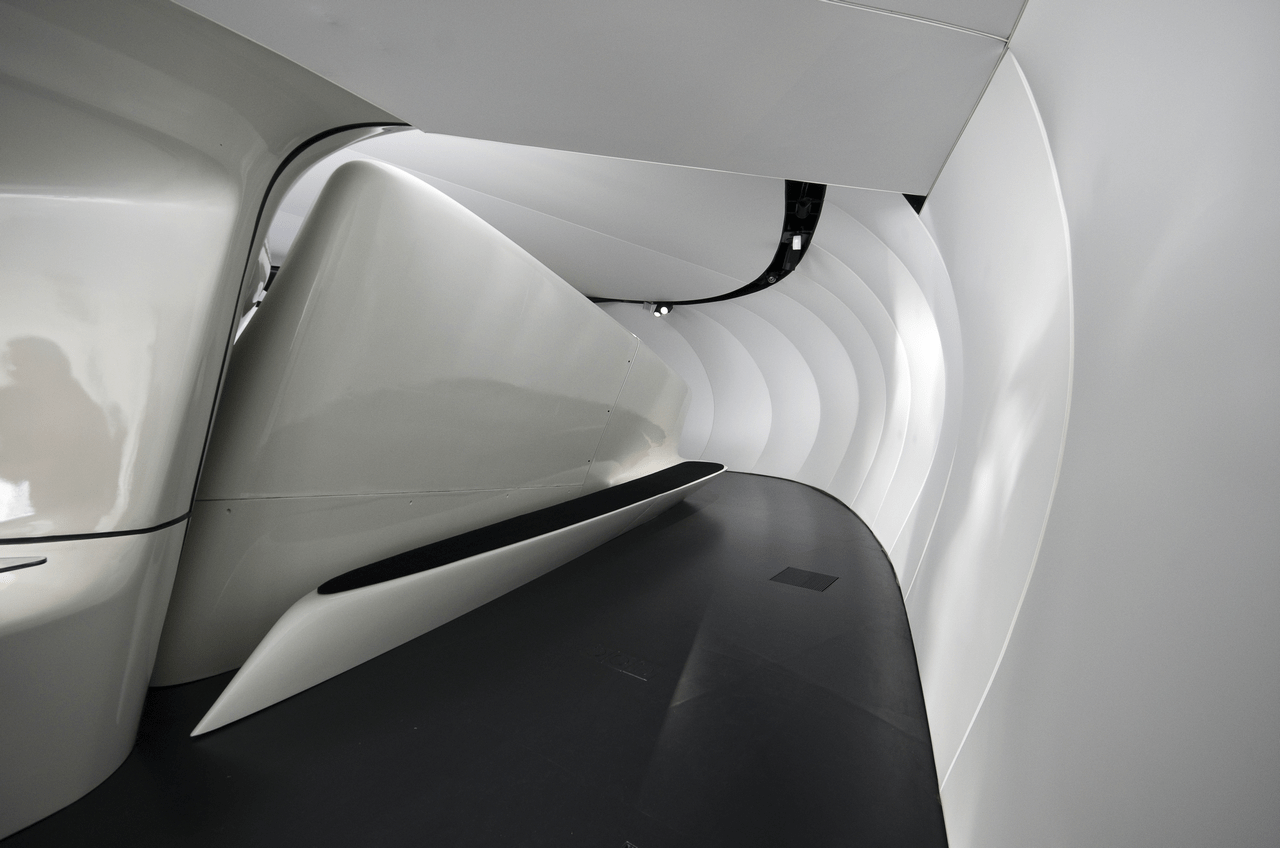 Chanel Mobile Art Pavilion Zaha Hadid