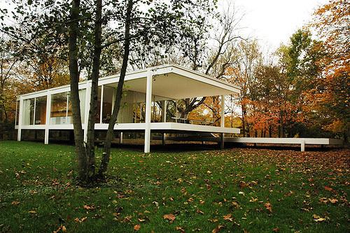 AD Classics The Farnsworth House  Mies van der Rohe  ArchDaily