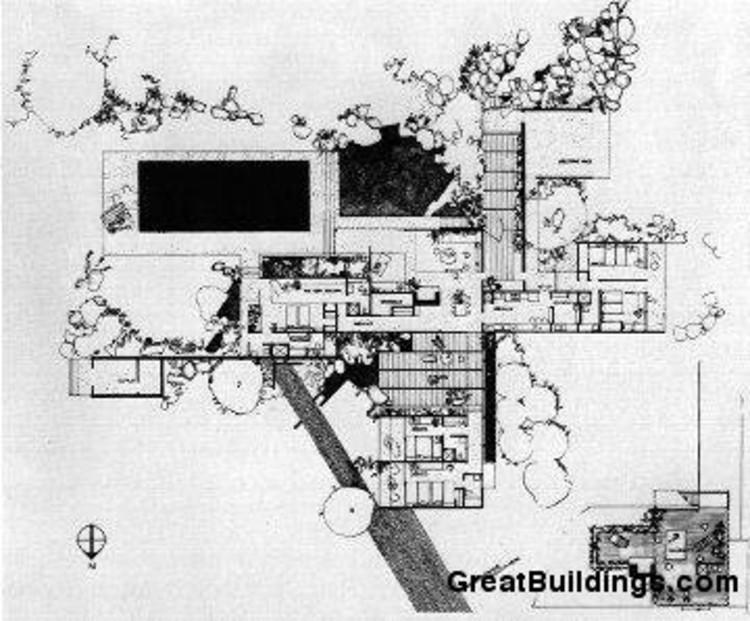 Frank Lloyd Wright Falling Water Wallpaper Ad Classics Kaufmann House Richard Neutra Archdaily