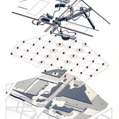 Oma Parc De La Villette Diagram Bmw E46 Amplifier Wiring Ad Classics Bernard Tschumi Architects Axon