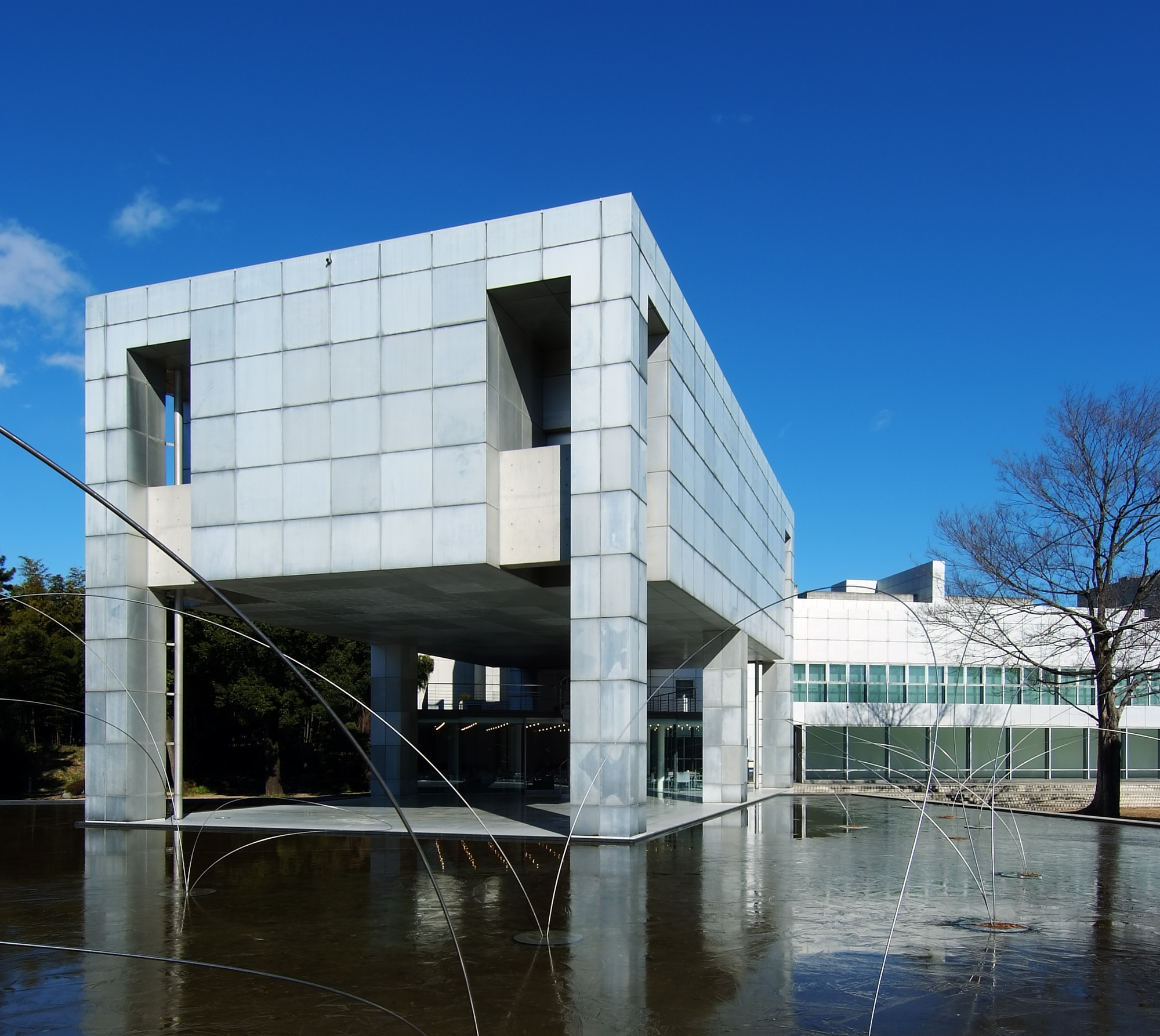 Ad Classics Museum Of Modern Art Gunma Arata Isozaki Archdaily