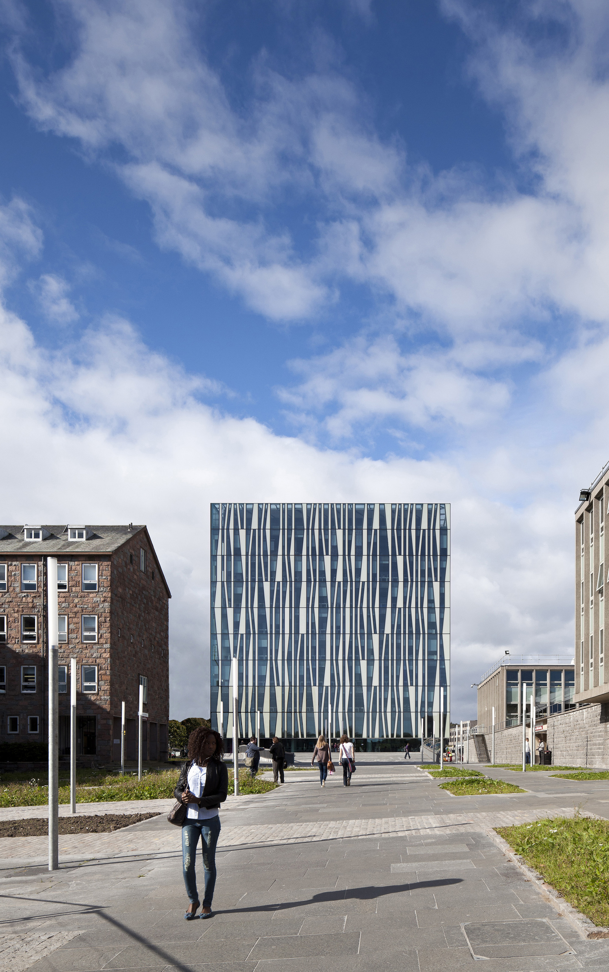 University of Aberdeen New Library,Courtesy of Schmidt Hammer Lassen Architects