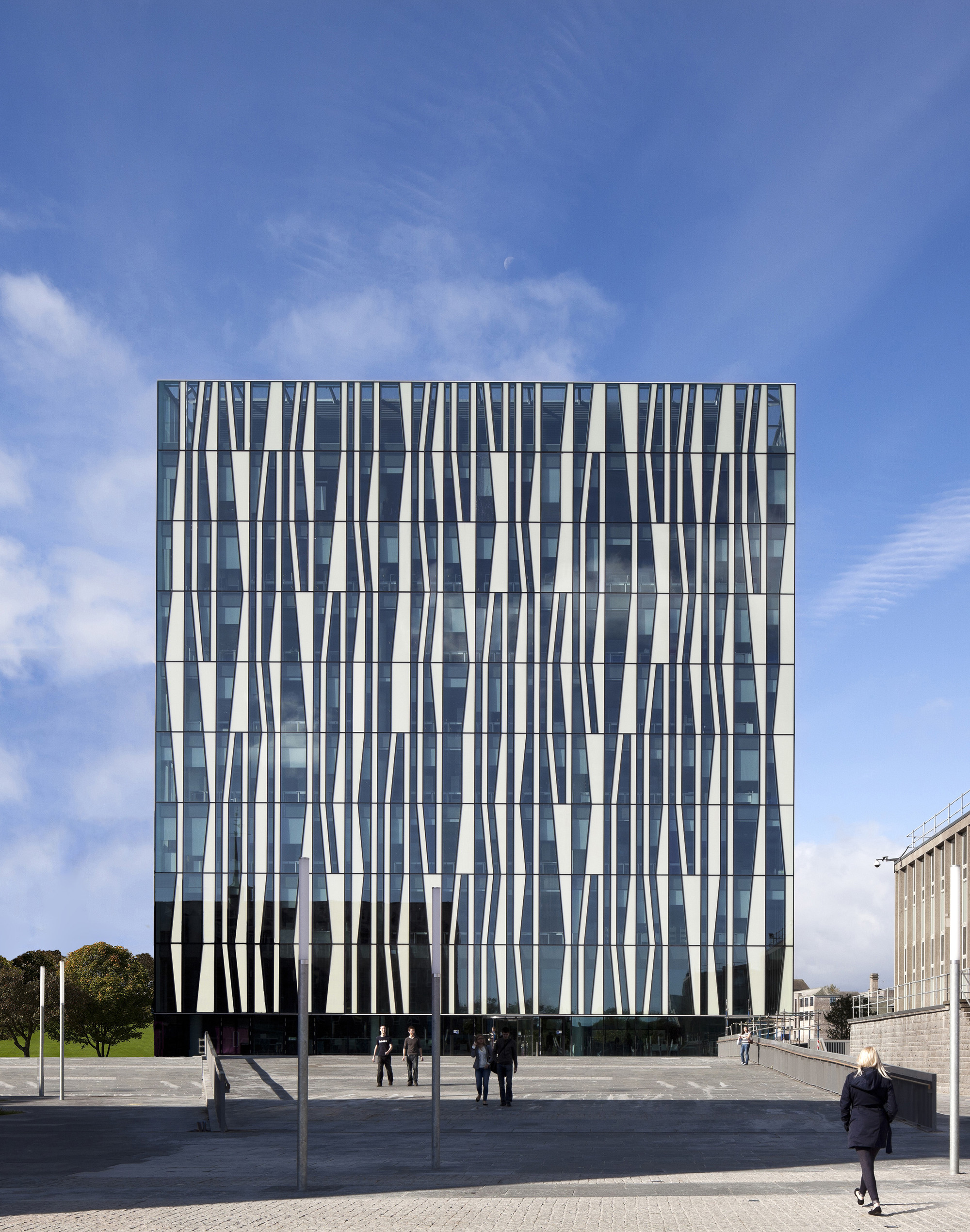 University Of Aberdeen Library Schmidt Hammer Lassen Architects Archdaily
