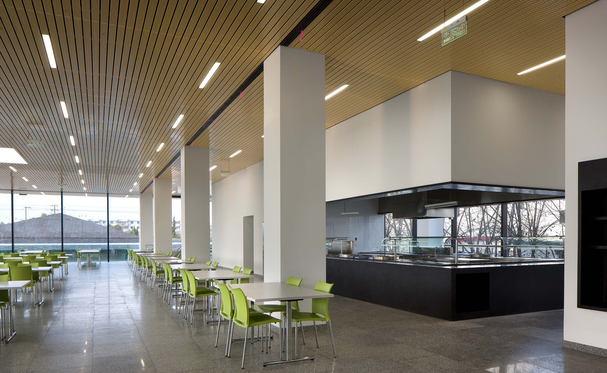 Gallery Of Roche Canteen Exh Design 4