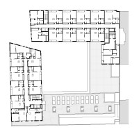 Gallery of 154 Rental Social Housing And Public Building
