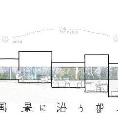Architecture Section Diagram Car Mate Trailer Wiring Gallery Of Rooms That Follow The Scenery On Design