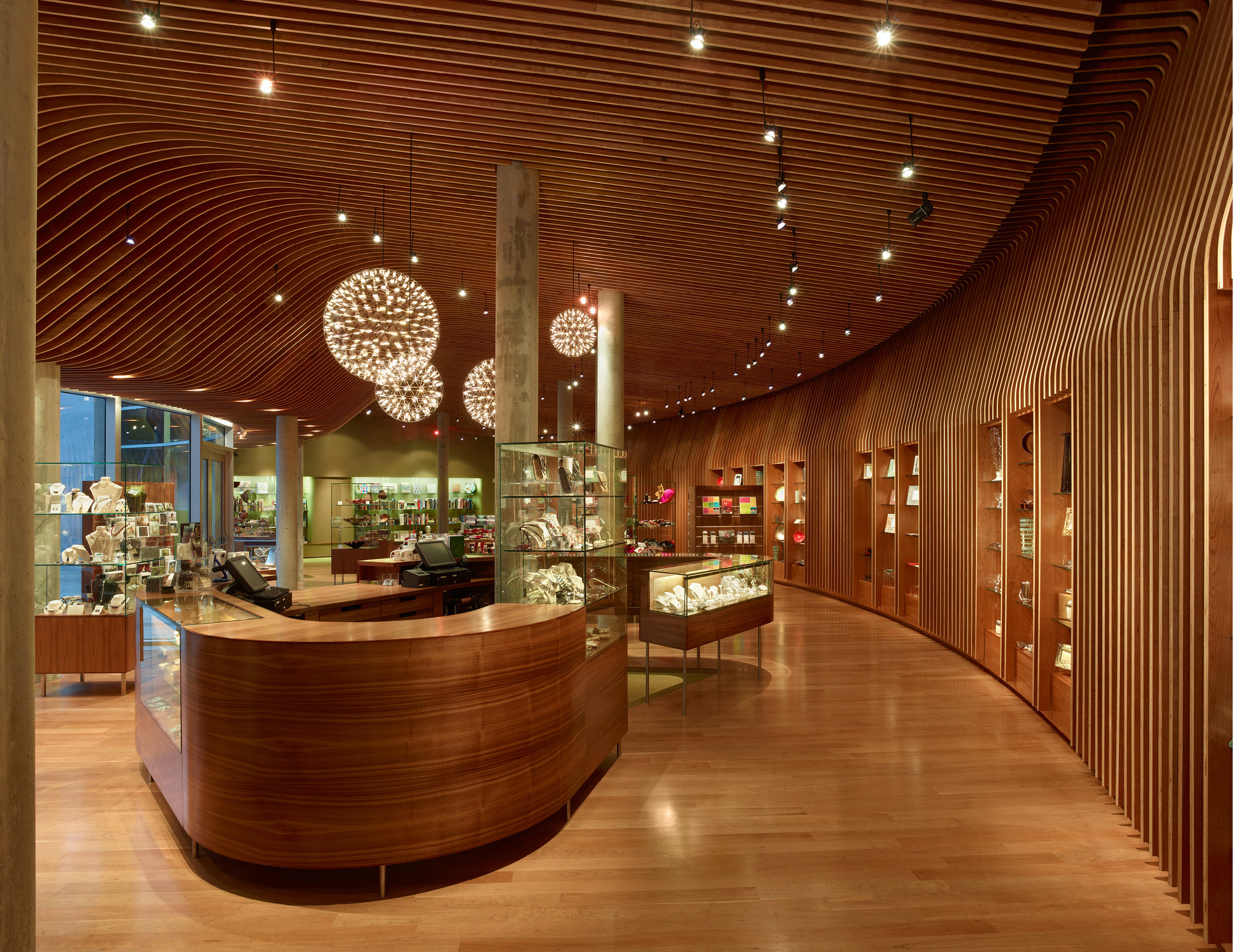 Crystal Bridges Museum Store Marlon Blackwell Architect - 8