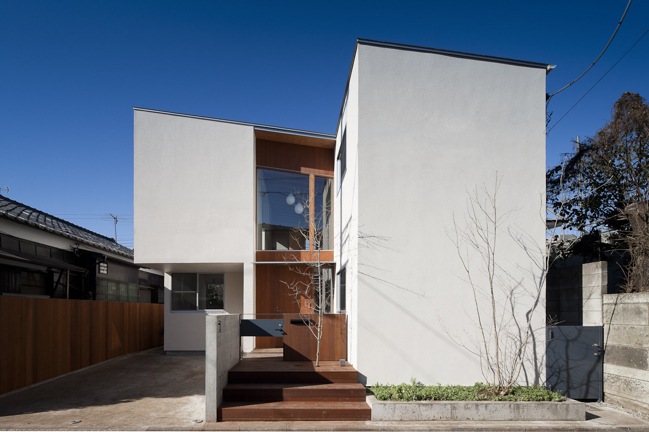 Coupled House Naoi Architecture & Design Office Archdaily